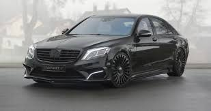 mercedes s63 amg black the mansory mercedes s63 is all black and white