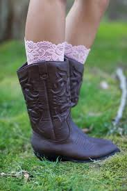 pure lace boot cuff boot socks vintage country wedding bridal