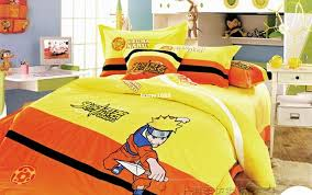 discount naruto bedding kids duvet covers twin bed set for