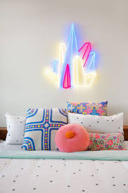 bedroom bedroom neon lights 58 modern bedding view in gallery