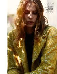 nadja bender wears 60s style for today in elle france