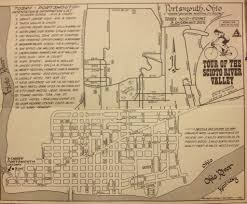 Franklin Ohio Map by 1969 Tosrv Schematic Map Of Portsmouth Ohio Drawn By Charl U2026 Flickr