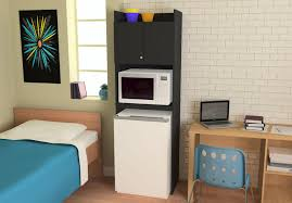 Microwave Storage Cabinet Systembuild Furniture Over The Refrigerator Storage Cabinet For