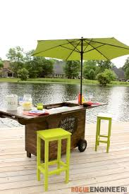 Diy Outdoor Chair Plans Easiest Bar Stools Ever Free Diy Plans Rogue Engineer