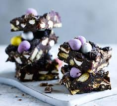 easter egg rocky road recipe bbc good food