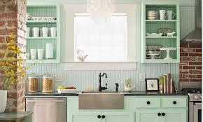vintage küche interessante küchenidee für vintage küche in hellgrün und weiß