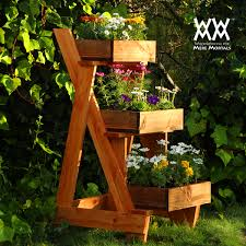 Standing Planter Box Plans by Three Tier Planter Woodworking For Mere Mortals