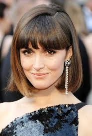 blunt fringe hairstyles 35 awesome bob haircuts with bangs makes you truly stylish