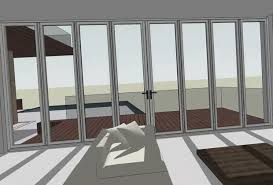 folding door glass folding doors with dynamic sketchup components nanawall
