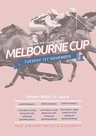 17 best melbourne cup u0026 spring racing diy graphic design templates