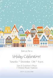 86 best christmas invitation templates images on pinterest