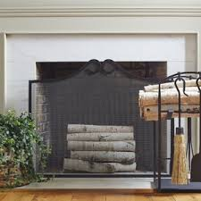 Country Fireplace Screens by Cottage U0026 Country Fireplace Screens You U0027ll Love Wayfair