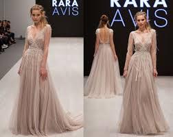 wedding dress tovel long sleeve wedding dress boho wedding dress