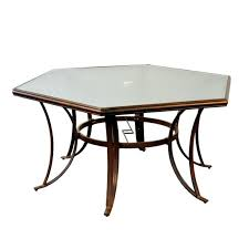 hexagon patio table and chairs appealing hexagon patio table hexagon patio table plans table