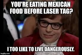 Lazer Tag Meme - my friends before laser tag imgflip