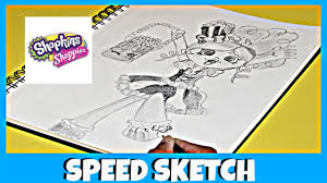 shopkins shoppies doll popette speed sketch surprise toys