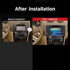 7 1 gps navigation car radio dvd player for 2005 2012 mercedes