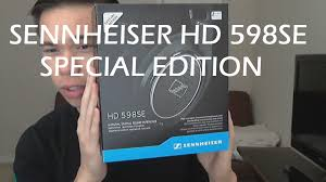 amazon black friday sennheiser hd 598se special edition unboxing youtube
