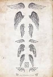 pictures of small wing tattoos tattoos