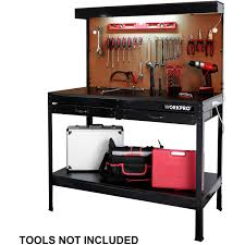 the workpro multi purpose workbench with work light walmart com