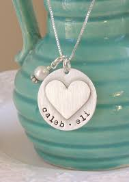 Stamped Name Necklace The 25 Best Sterling Silver Name Necklace Ideas On Pinterest