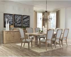 coaster donny osmond florence rectangular dining set in rustic