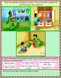 upper kg english reading worksheets cbse icse