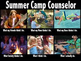 Summer School Meme - c counsellor what people think what i actually do meme c