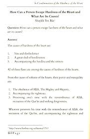 a treatise in condemnation of the hardness of the heart al