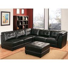 Sectional Sofa Leather Black Leather Sectional U Shaped Sectional Best
