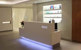 Bespoke Reception Desk Dental Reception Desks
