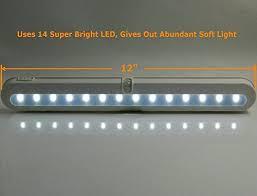 led under cabinet lighting battery sensor light battery operated bliss t01b closet light led under