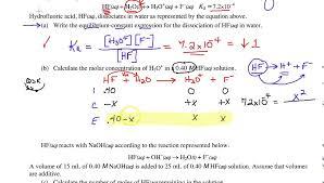 ap chemistry acid base 3 worksheet review youtube