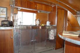 Inside Of Kitchen Cabinets 1947 Aero Flite Trailer My Parents Have Cool Stuff Pinterest