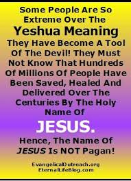yeshua jesus real name yahshua jesus in hebrew