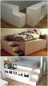 Build Platform Bed With Storage Underneath by Best 25 Diy Platform Bed Ideas On Pinterest Diy Platform Bed