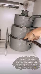 kitchen cupboard storage ideas ebay mrs hinch reveals genius space saving way of storing