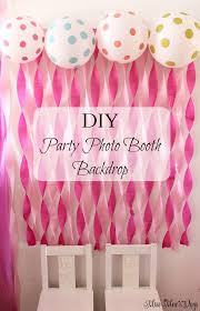 How To Make Birthday Decorations At Home Best 25 Birthday Decorations Ideas On Pinterest Diy Party