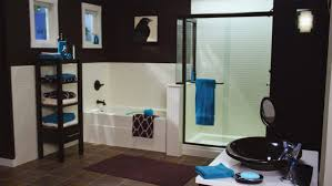 Blue And Brown Bathroom Decorating Ideas Elegant Interior And Furniture Layouts Pictures Bathroom Design