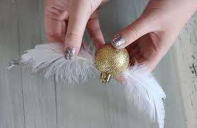 step 4 golden snitch ornament diy popsugar smart