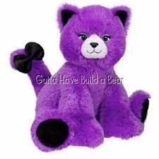 build a unstuffed build a 14 kooky spooky purple cat unstuffed plush