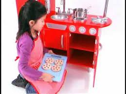 Kidkraft Kitchen Red - achat red kitchen pour les enfants kidkraft sur docteurdiscount