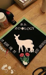 Pinterest Graduation Ideas by Graduation Cap Zoology Adventure Graduation Cap Designs