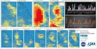 satellite maps 2015 maps aid sri lankan flood relief iwmi