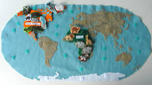 North America Wall Map by Animals Of North America For The Montessori Wall Map U0026 Quietbook