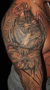 dove on left half sleeve