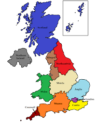 map uk cus if britain was to become federal should the states