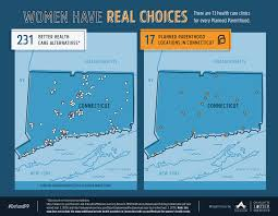 Connecticut State Map by Maps Health Clinics Nationwide Compared To Planned Parenthood