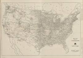 mileage map composite black and white mileage map of the united states