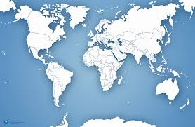 map of us without names of the united states america without names us and canada and map names jpg